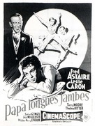 Daddy Long Legs - French Movie Poster (xs thumbnail)