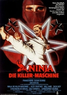 Enter the Ninja - German Movie Poster (xs thumbnail)