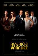 American Hustle - Croatian Movie Poster (xs thumbnail)