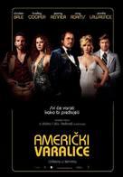 American Hustle - Croatian Movie Poster (xs thumbnail)
