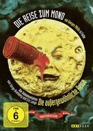 Le voyage dans la lune - German DVD cover (xs thumbnail)