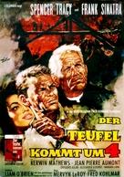 The Devil at 4 O'Clock - German Movie Poster (xs thumbnail)