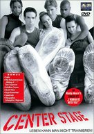Center Stage - German DVD cover (xs thumbnail)