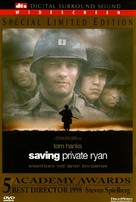 Saving Private Ryan - DVD cover (xs thumbnail)