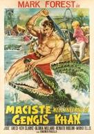 Maciste nell'inferno di Gengis Khan - Italian Movie Poster (xs thumbnail)