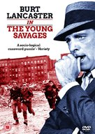 The Young Savages - British DVD cover (xs thumbnail)