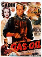 Gas-Oil - Belgian Movie Poster (xs thumbnail)