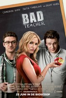 Bad Teacher - Dutch Movie Poster (xs thumbnail)