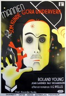 The Man Who Could Work Miracles - Swedish Movie Poster (xs thumbnail)