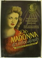 Madonna of the Seven Moons - German Movie Poster (xs thumbnail)
