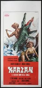Karzan, il favoloso uomo della jungla - Italian Movie Poster (xs thumbnail)