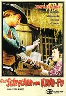 Lo straniero di silenzio - German DVD cover (xs thumbnail)