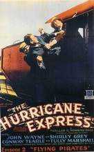 The Hurricane Express - Movie Poster (xs thumbnail)