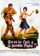 What Did You Do in the War, Daddy? - French Movie Poster (xs thumbnail)
