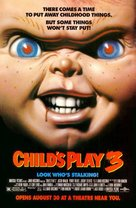 Child's Play 3 - Advance movie poster (xs thumbnail)