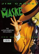 The Mask - German DVD cover (xs thumbnail)
