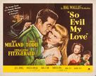 So Evil My Love - Movie Poster (xs thumbnail)