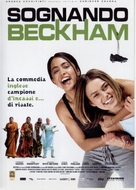 Bend It Like Beckham - Italian DVD movie cover (xs thumbnail)