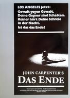 Assault on Precinct 13 - German Movie Poster (xs thumbnail)