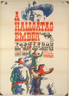 Hombre - Hungarian Movie Poster (xs thumbnail)