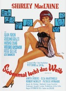 Woman Times Seven - German Movie Poster (xs thumbnail)
