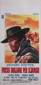 Pochi dollari per Django - Italian Movie Poster (xs thumbnail)