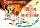 The Girl in the Red Velvet Swing - German Movie Poster (xs thumbnail)