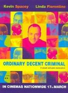 Ordinary Decent Criminal - British Movie Poster (xs thumbnail)
