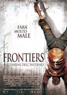 Frontière(s) - Italian Movie Poster (xs thumbnail)