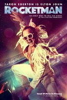 Rocketman - Belgian Movie Poster (xs thumbnail)