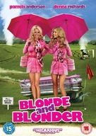 Blonde and Blonder - British DVD movie cover (xs thumbnail)