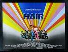 Hair - British Theatrical movie poster (xs thumbnail)
