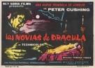 The Brides of Dracula - Spanish Movie Poster (xs thumbnail)