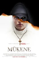 The Nun - Latvian Movie Poster (xs thumbnail)