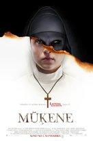 The Nun - Latvian Movie Poster (xs thumbnail)