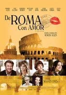 To Rome with Love - Mexican Movie Poster (xs thumbnail)