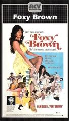 Foxy Brown - Dutch VHS movie cover (xs thumbnail)