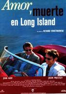 Love and Death on Long Island - Spanish Movie Poster (xs thumbnail)