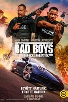 Bad Boys for Life - Hungarian Movie Poster (xs thumbnail)