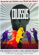 Colossus: The Forbin Project - German Movie Poster (xs thumbnail)