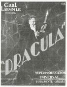 Drácula - Mexican Movie Poster (xs thumbnail)
