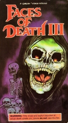 Faces of Death III - VHS cover (xs thumbnail)