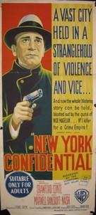 New York Confidential - Australian Movie Poster (xs thumbnail)