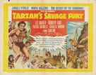 Tarzan's Savage Fury - British Movie Poster (xs thumbnail)