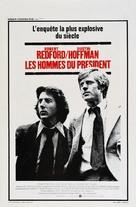 All the President's Men - Belgian Movie Poster (xs thumbnail)