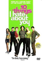 10 Things I Hate About You - Canadian DVD movie cover (xs thumbnail)