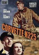 Corvette K-225 - British DVD movie cover (xs thumbnail)