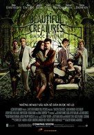 Beautiful Creatures - Vietnamese Movie Poster (xs thumbnail)