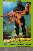 The Return of Swamp Thing - Polish Movie Cover (xs thumbnail)