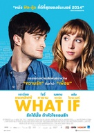 What If - Thai Movie Poster (xs thumbnail)